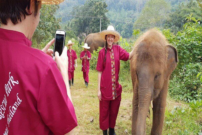 elephant tour chiang mai_serene boutique elephant care_10