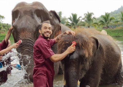 half day elephant sanctuary chiang mai_10
